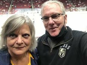Fletch attended Arizona Coyotes vs. Vegas Golden Knights - NHL on Apr 30th 2021 via VetTix
