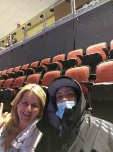 Kim attended Arizona Coyotes vs. Vegas Golden Knights - NHL on Apr 30th 2021 via VetTix