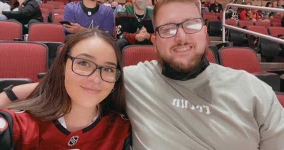 Dak attended Arizona Coyotes vs. Vegas Golden Knights - NHL on May 1st 2021 via VetTix