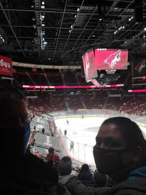 MedicAir72 attended Arizona Coyotes vs. Vegas Golden Knights - NHL on May 1st 2021 via VetTix