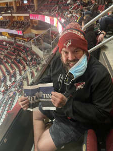 Doodle attended Arizona Coyotes vs. Vegas Golden Knights - NHL on May 1st 2021 via VetTix