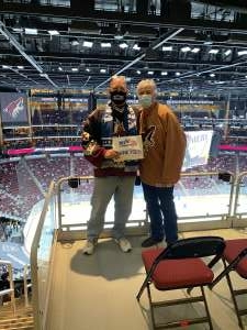 Click To Read More Feedback from Arizona Coyotes vs. Vegas Golden Knights - NHL
