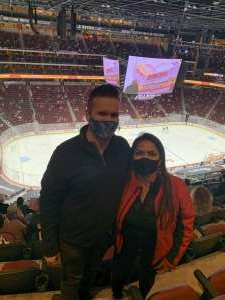 Janice attended Arizona Coyotes vs. Vegas Golden Knights - NHL on May 1st 2021 via VetTix