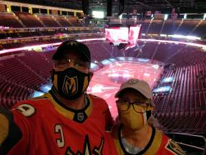 PPate attended Arizona Coyotes vs. Vegas Golden Knights - NHL on May 1st 2021 via VetTix
