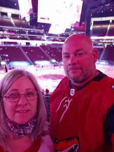 Danny attended Arizona Coyotes vs. Vegas Golden Knights - NHL on May 1st 2021 via VetTix