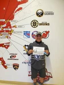 Thank you for the VGK TIX! attended Arizona Coyotes vs. Vegas Golden Knights - NHL on May 1st 2021 via VetTix