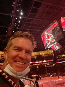 DW Small attended Arizona Coyotes vs. Vegas Golden Knights - NHL on May 1st 2021 via VetTix