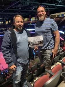 Paul attended Arizona Coyotes vs. Los Angeles Kings (correction) - NHL on May 3rd 2021 via VetTix