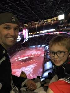 David attended Arizona Coyotes vs. Los Angeles Kings (correction) - NHL on May 3rd 2021 via VetTix