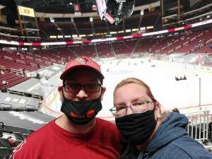 Jessica  attended Arizona Coyotes vs. Los Angeles Kings (correction) - NHL on May 3rd 2021 via VetTix