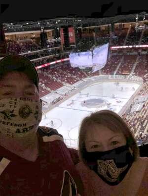 Steve Wolfe attended Arizona Coyotes vs. Los Angeles Kings (correction) - NHL on May 3rd 2021 via VetTix