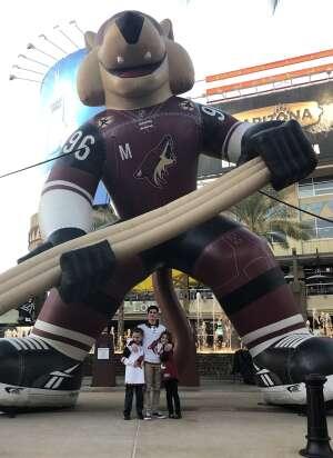 Rich attended Arizona Coyotes vs. Los Angeles Kings (correction) - NHL on May 3rd 2021 via VetTix