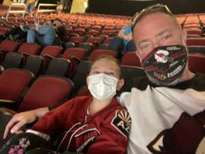 Steve attended Arizona Coyotes vs. Los Angeles Kings (correction) - NHL on May 3rd 2021 via VetTix