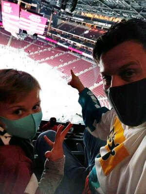 Ben Andree attended Arizona Coyotes vs. Los Angeles Kings (correction) - NHL on May 3rd 2021 via VetTix