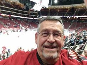 wojdaw attended Arizona Coyotes vs. Los Angeles Kings (correction) - NHL on May 3rd 2021 via VetTix