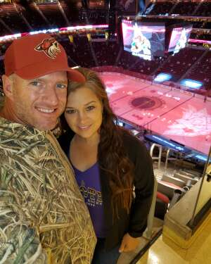 Sean attended Arizona Coyotes vs. Los Angeles Kings (correction) - NHL on May 3rd 2021 via VetTix