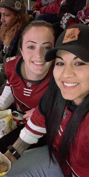 Jes attended Arizona Coyotes vs. Los Angeles Kings (correction) - NHL on May 3rd 2021 via VetTix