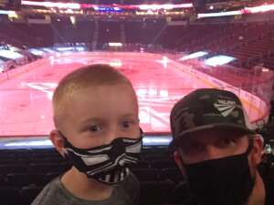 Cullen attended Arizona Coyotes vs. Los Angeles Kings (correction) - NHL on May 3rd 2021 via VetTix