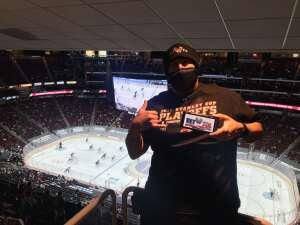 Tom attended Arizona Coyotes vs. Los Angeles Kings (correction) - NHL on May 3rd 2021 via VetTix