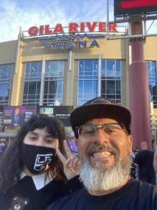 Frank Ramirez attended Arizona Coyotes vs. Los Angeles Kings (correction) - NHL on May 3rd 2021 via VetTix