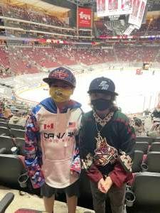 Juck attended Arizona Coyotes vs. Los Angeles Kings (correction) - NHL on May 3rd 2021 via VetTix