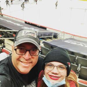AI attended Arizona Coyotes vs. Los Angeles Kings (correction) - NHL on May 3rd 2021 via VetTix
