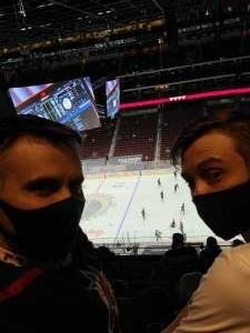 TDRTFL attended Arizona Coyotes vs. Los Angeles Kings (correction) - NHL on May 3rd 2021 via VetTix