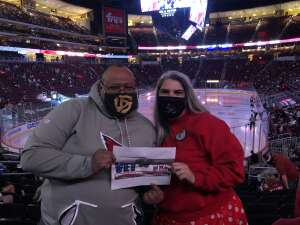Cliff attended Arizona Coyotes vs. Los Angeles Kings (correction) - NHL on May 3rd 2021 via VetTix
