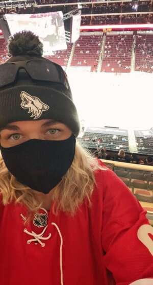 Nelson Family attended Arizona Coyotes vs. Los Angeles Kings (correction) - NHL on May 3rd 2021 via VetTix