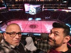 Daniel attended Arizona Coyotes vs. Los Angeles Kings (correction) - NHL on May 3rd 2021 via VetTix