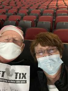 Dean Moser attended Arizona Coyotes vs. Los Angeles Kings (correction ) - NHL on May 5th 2021 via VetTix