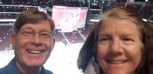 Jay attended Arizona Coyotes vs. Los Angeles Kings (correction ) - NHL on May 5th 2021 via VetTix