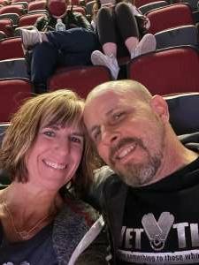 Richard Hale attended Arizona Coyotes vs. Los Angeles Kings (correction ) - NHL on May 5th 2021 via VetTix