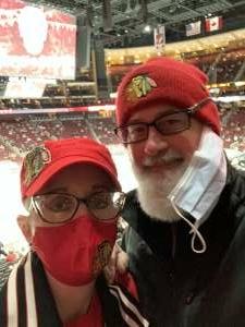Robert  attended Arizona Coyotes vs. Los Angeles Kings (correction ) - NHL on May 5th 2021 via VetTix