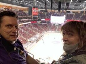 Marty attended Arizona Coyotes vs. Los Angeles Kings (correction ) - NHL on May 5th 2021 via VetTix