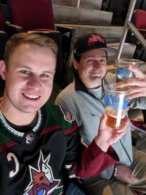 Nick L attended Arizona Coyotes vs. Los Angeles Kings (correction ) - NHL on May 5th 2021 via VetTix