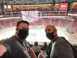 Alan P attended Arizona Coyotes vs. Los Angeles Kings (correction ) - NHL on May 5th 2021 via VetTix