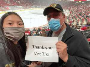 Richard U attended Arizona Coyotes vs. Los Angeles Kings (correction ) - NHL on May 5th 2021 via VetTix