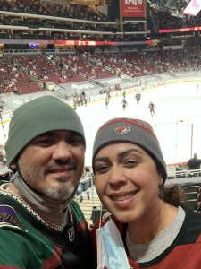 Richard Verduzco attended Arizona Coyotes vs. Los Angeles Kings (correction ) - NHL on May 5th 2021 via VetTix