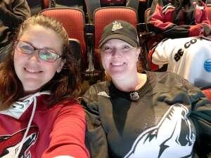 Koni  attended Arizona Coyotes vs. Los Angeles Kings (correction ) - NHL on May 5th 2021 via VetTix