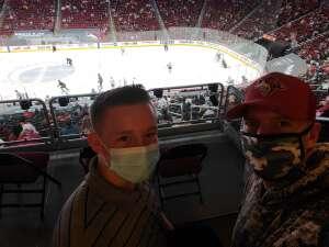 Sean attended Arizona Coyotes vs. Los Angeles Kings (correction ) - NHL on May 5th 2021 via VetTix