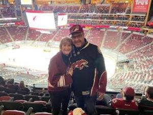 Greg Mattingly attended Arizona Coyotes vs. Los Angeles Kings (correction ) - NHL on May 5th 2021 via VetTix