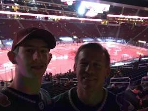 Eddie attended Arizona Coyotes vs. Los Angeles Kings (correction ) - NHL on May 5th 2021 via VetTix