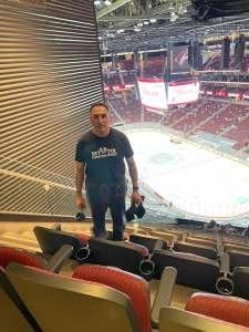 Abe attended Arizona Coyotes vs. Los Angeles Kings (correction ) - NHL on May 5th 2021 via VetTix