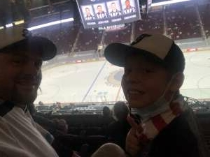George attended Arizona Coyotes vs. Los Angeles Kings (correction ) - NHL on May 5th 2021 via VetTix