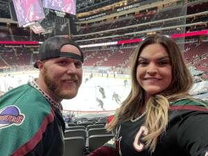 Shandel  attended Arizona Coyotes vs. Los Angeles Kings (correction ) - NHL on May 5th 2021 via VetTix