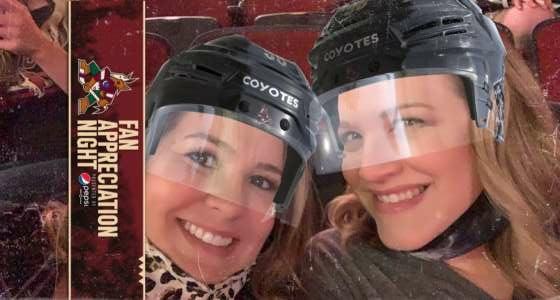 Ruthie  attended Arizona Coyotes vs. Los Angeles Kings (correction ) - NHL on May 5th 2021 via VetTix