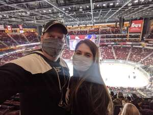 Brian G attended Arizona Coyotes vs. Los Angeles Kings (correction ) - NHL on May 5th 2021 via VetTix