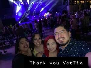 Joe attended Lee Brice on May 1st 2021 via VetTix