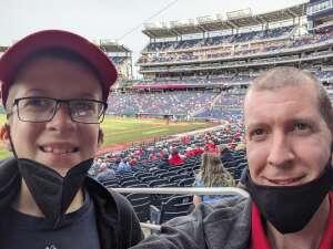BP attended Washington Nationals vs. Atlanta Braves - MLB on May 6th 2021 via VetTix